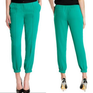 Ted Baker Luana Crepe Lux Jogger Jade Green US 6